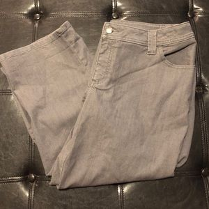 Lee's Gray High Water Jeans